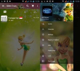 BBM Mod Tinker Bell