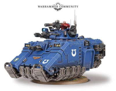 space marine primaris chaplain apothecary redemptor dreadnought repulsor tank
