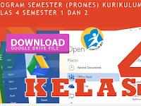 Promes Prota Dan KKM Kurikulum 2013 Revisi Tahun 2016 Kelas 4 SD