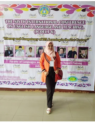 The lecturers of English Education Study Program  (PBI UM Metro) Participated in the International Conference
