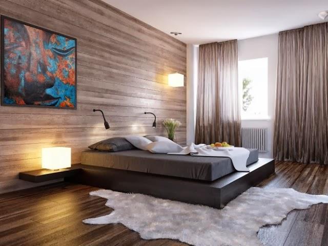 мужская спальня