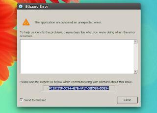 WoW Battle.net crash Ubuntu