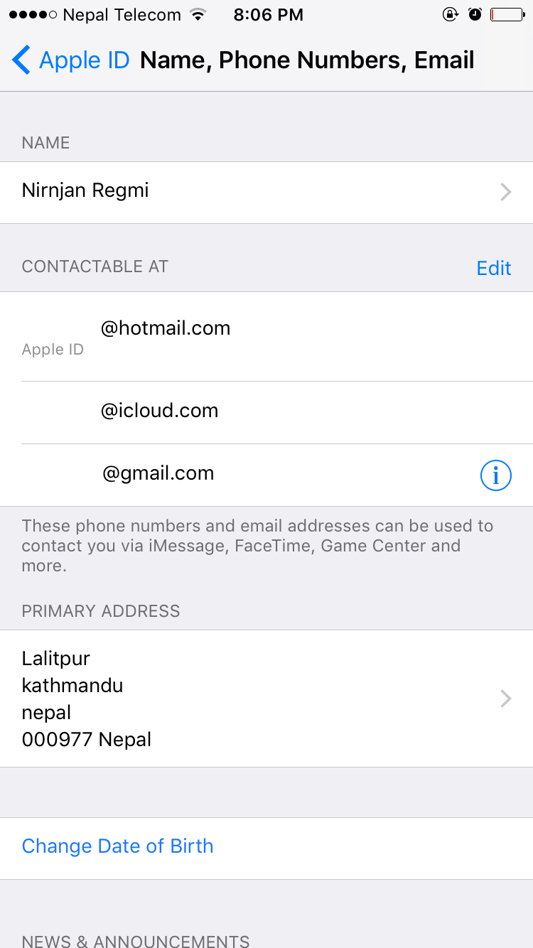change email address on iphone how to change apple id email address on iphone and in 16778