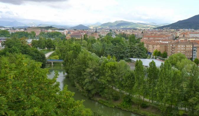 Pamplona en San Fermín.