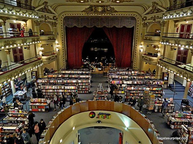 Livraria El Ateneo Grand Splendid, Recoleta, Buenos Aires, Argentina