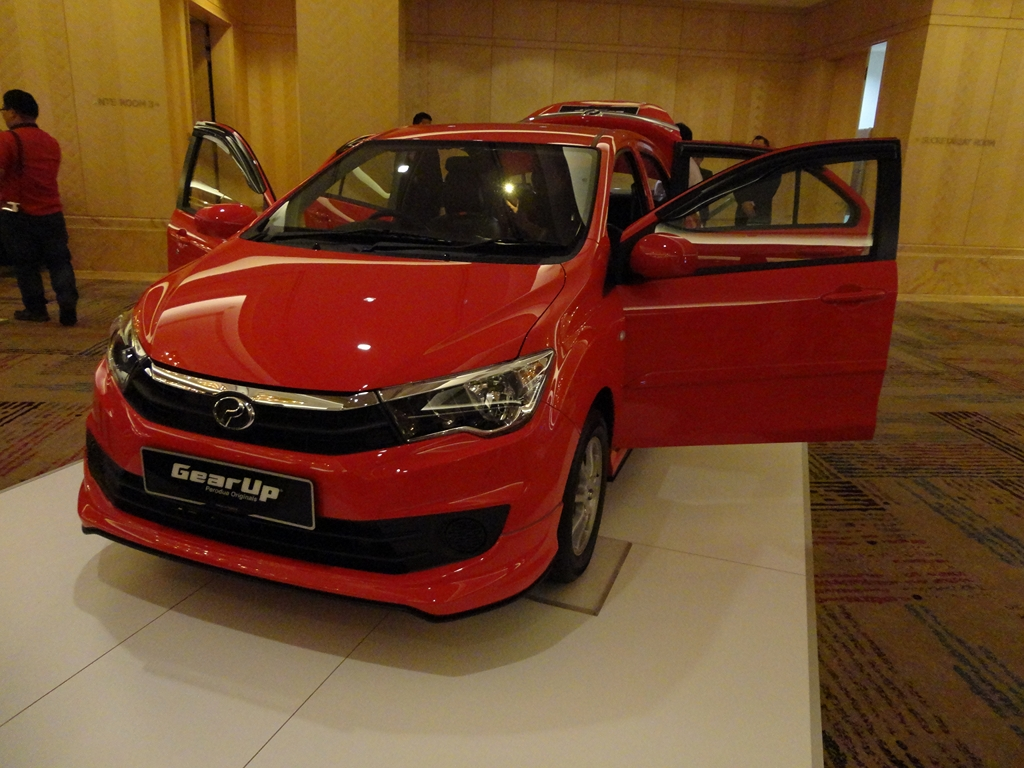 Perodua s series promotional giveaways