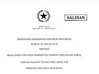 Tahapan Rekrutmen PPPK Dimulai Desember, Catat Persyaratannya !