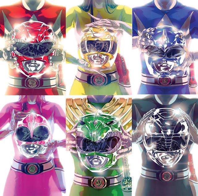Power Ranger cómic