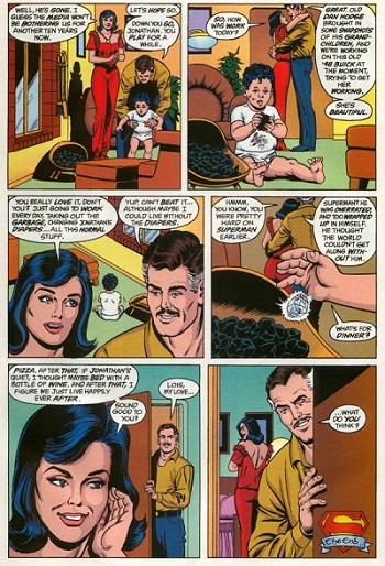 Fumetti | Supereroi | Mister Mxyzptlk | Cosa è successo all'uomo del domani