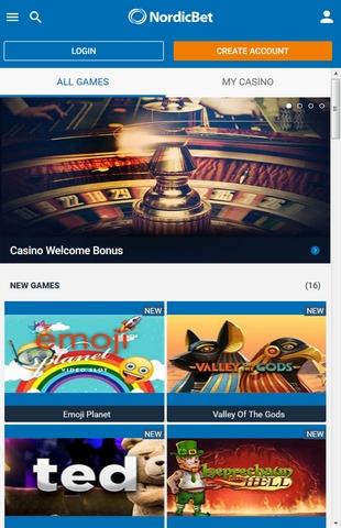 Nordicbet Nonstopbonus New Review On Sportsbook And Casino