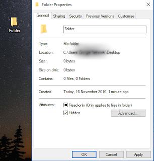 cara menghilangkan beberapa icon di desktop