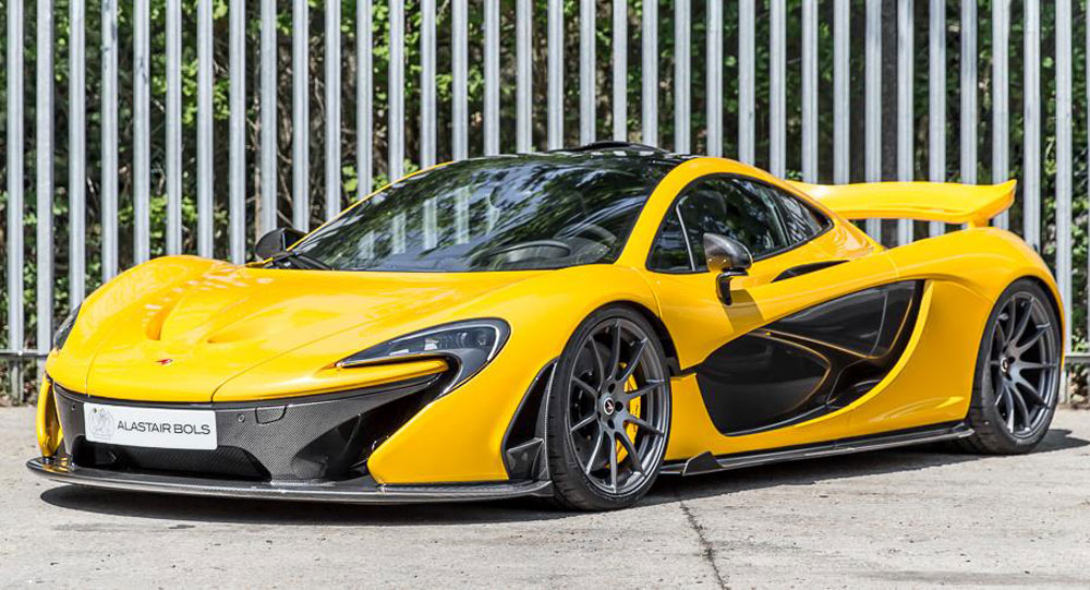 volcano yellow mclaren p1 with just 3 miles on the clock for sale. Black Bedroom Furniture Sets. Home Design Ideas