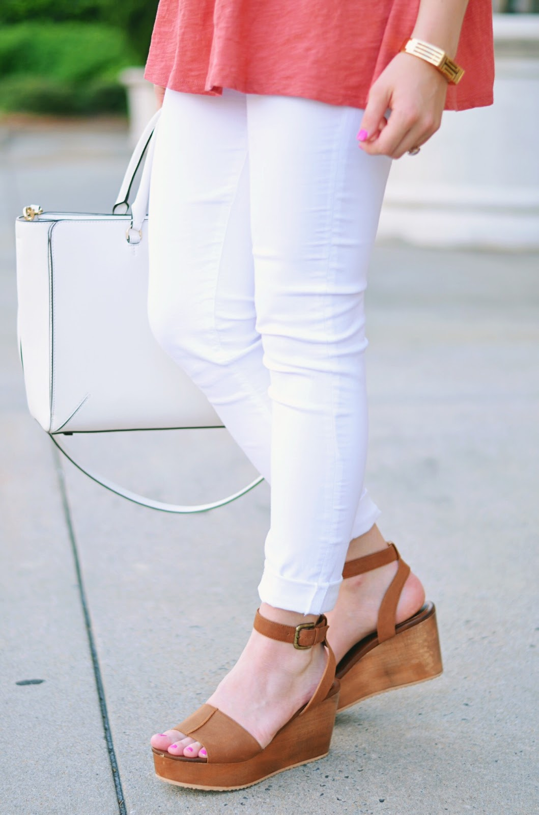 Brown Summer Wedges