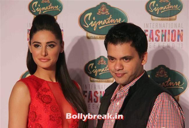 Nargis Fakhri and Nachiket Barve, Hot Celebs at Signature International Fashion Weekend