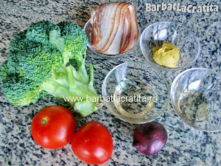 Salata de broccoli cu bacon ingrediente reteta