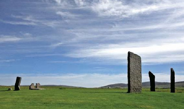 Astronomy shown to be set in standing stone