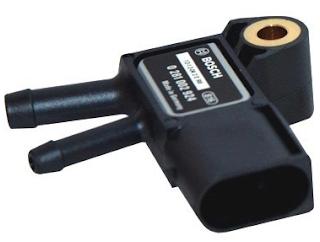 egzoz gazı geri basınç sensörü