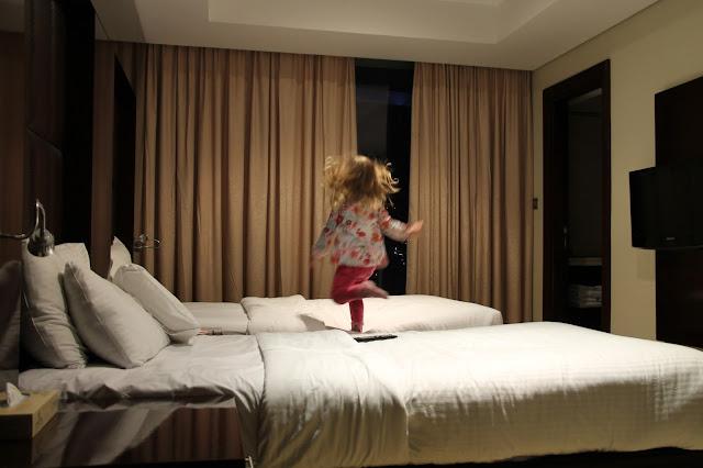 Lasten kanssa hotellissa
