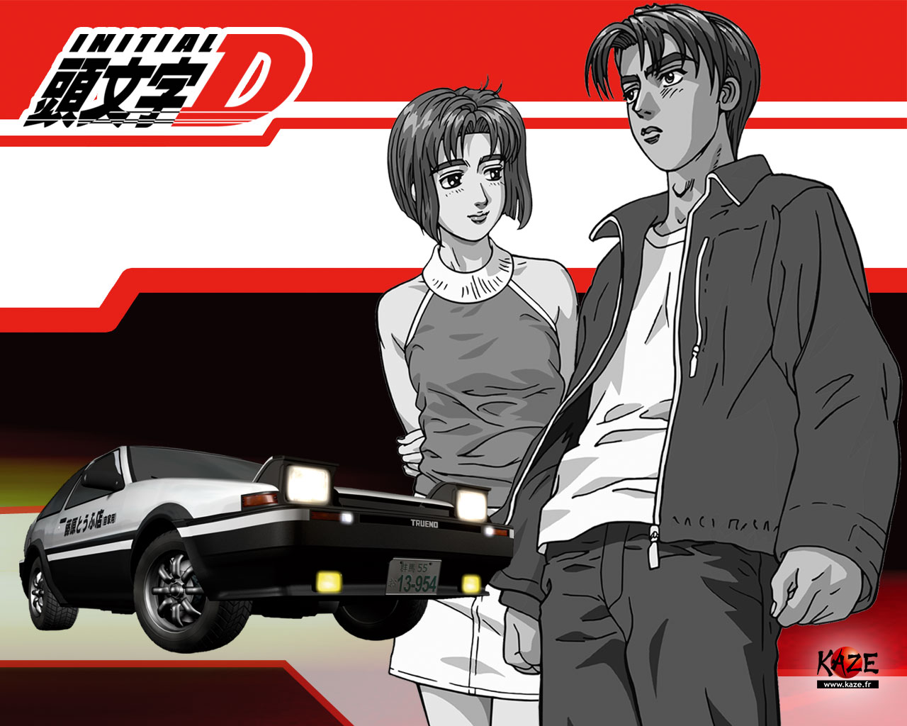 Initial D  Subtitle Indonesia  Completed