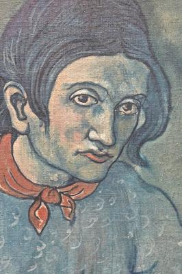 Picasso : portrait de Geneviève Saint Pétersbourg Ermitage 2 Etat-Major en face du palais d'Hiver