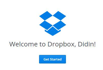 how to change dropbox login on desktop