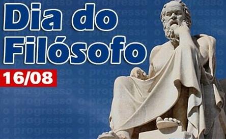 16 DE AGOSTO É DIA DO FILÓSOFO - COLÉGIO SANTA JOANA D'ARC