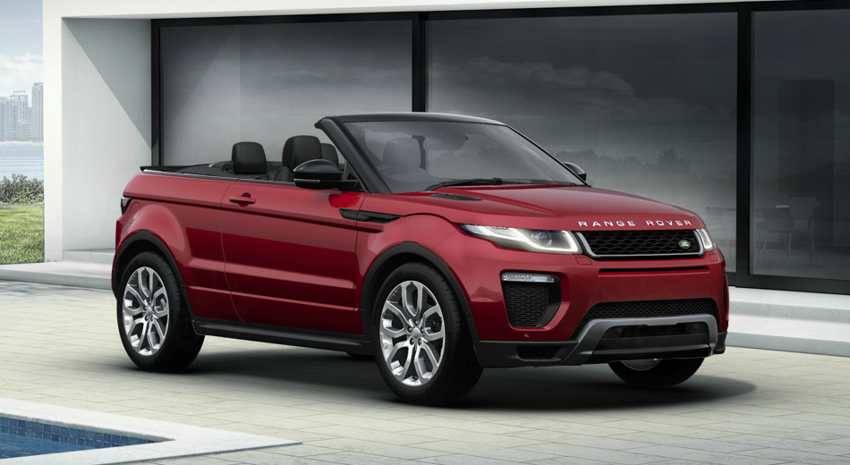 range rover evoque cabriolet 2018 couleurs colors. Black Bedroom Furniture Sets. Home Design Ideas
