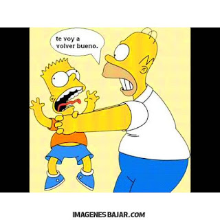 imagenes chistosas de los simpson graciosas