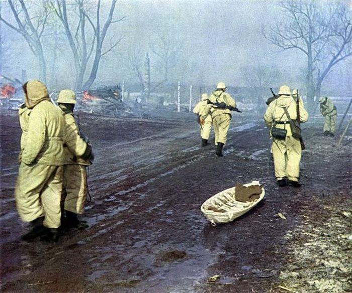 World War Ii Photos In Color Vintage Everyday