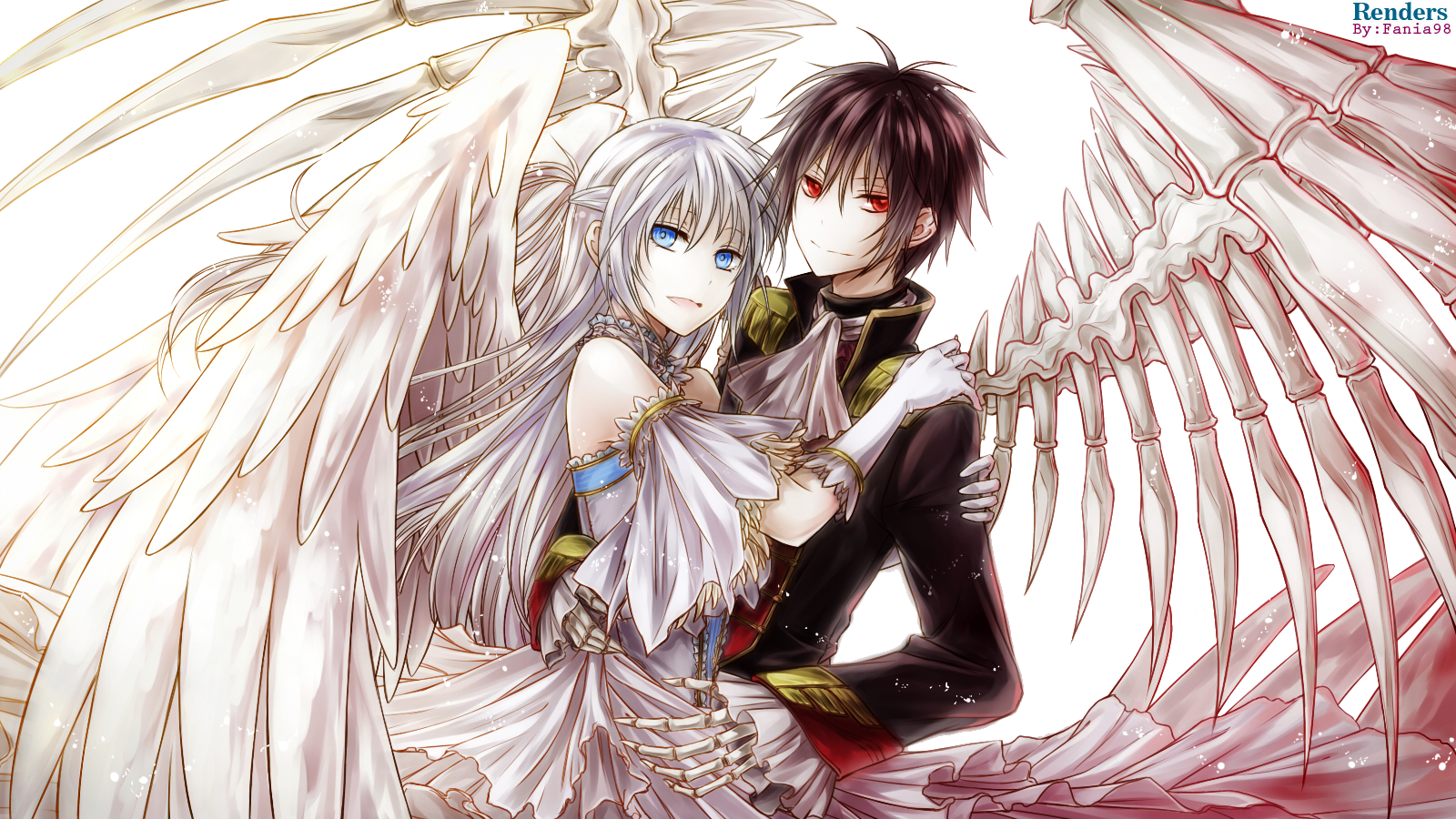 Render- Angel & Demon