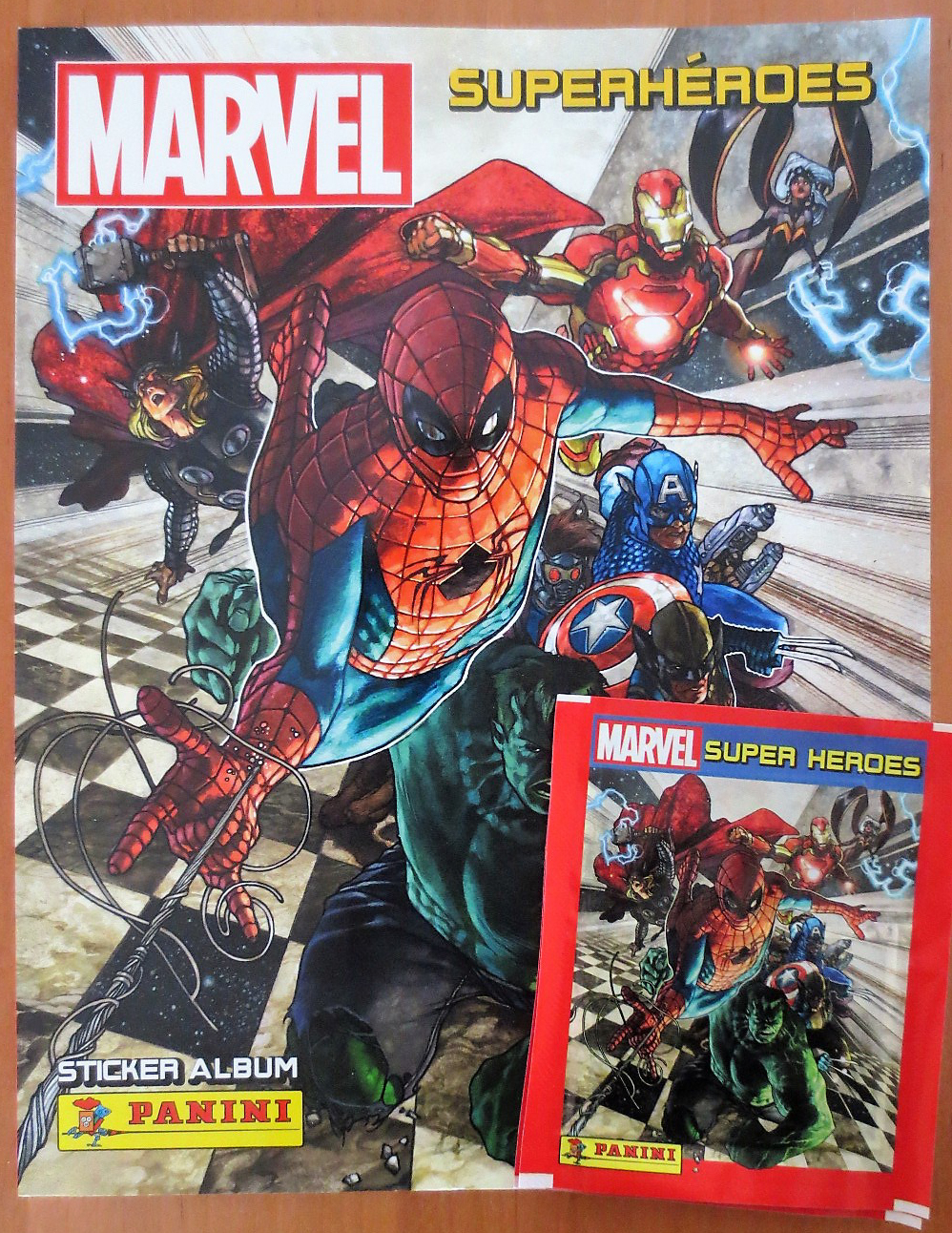 EL RINCON DEL TARADETE: Álbum de cromos: Marvel ...