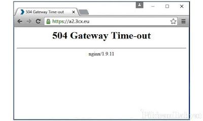 Apa Itu 504 Gateway Time out bagaimana Cara Mengatasinya