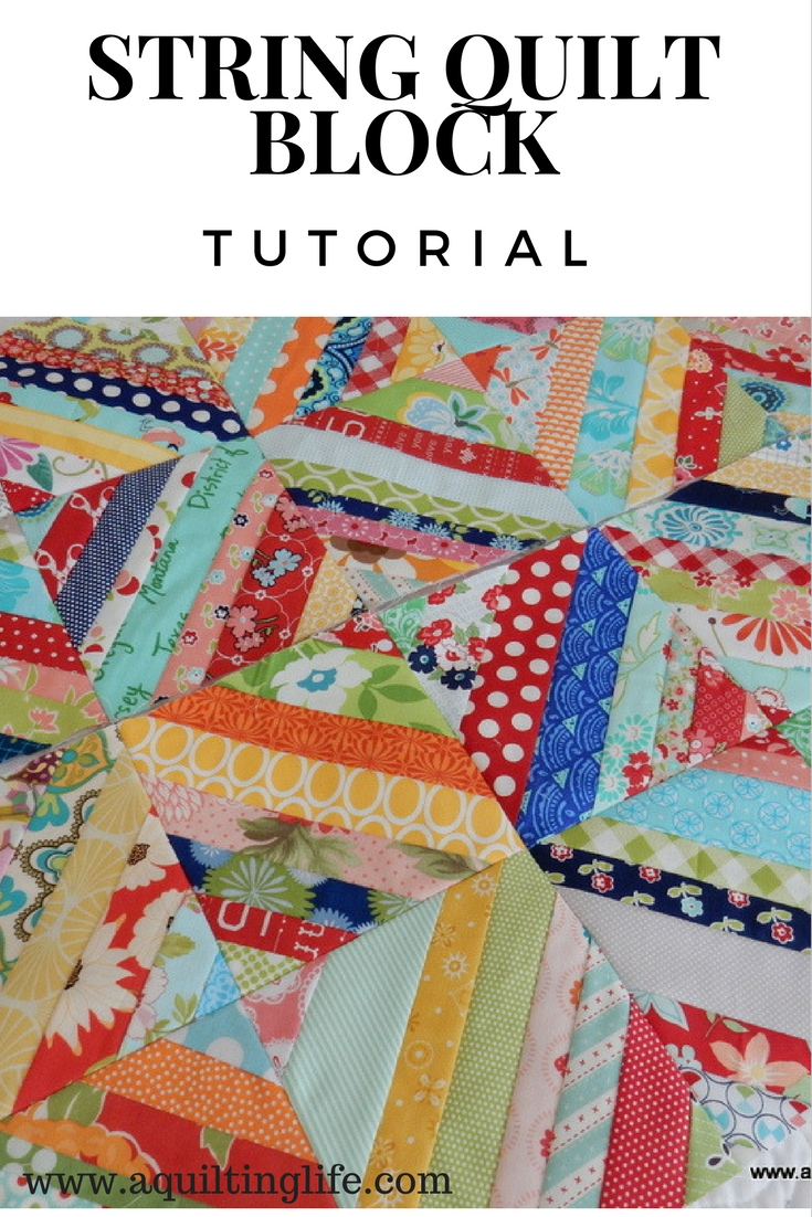 String Quilt Blocks--A Tutorial   A Quilting Life - a quilt blog : string quilt tutorial - Adamdwight.com