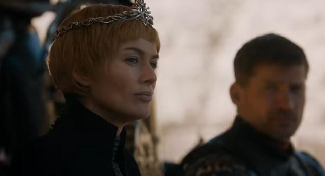 lena heidy is cersei in game of thrones season 7 episode 7