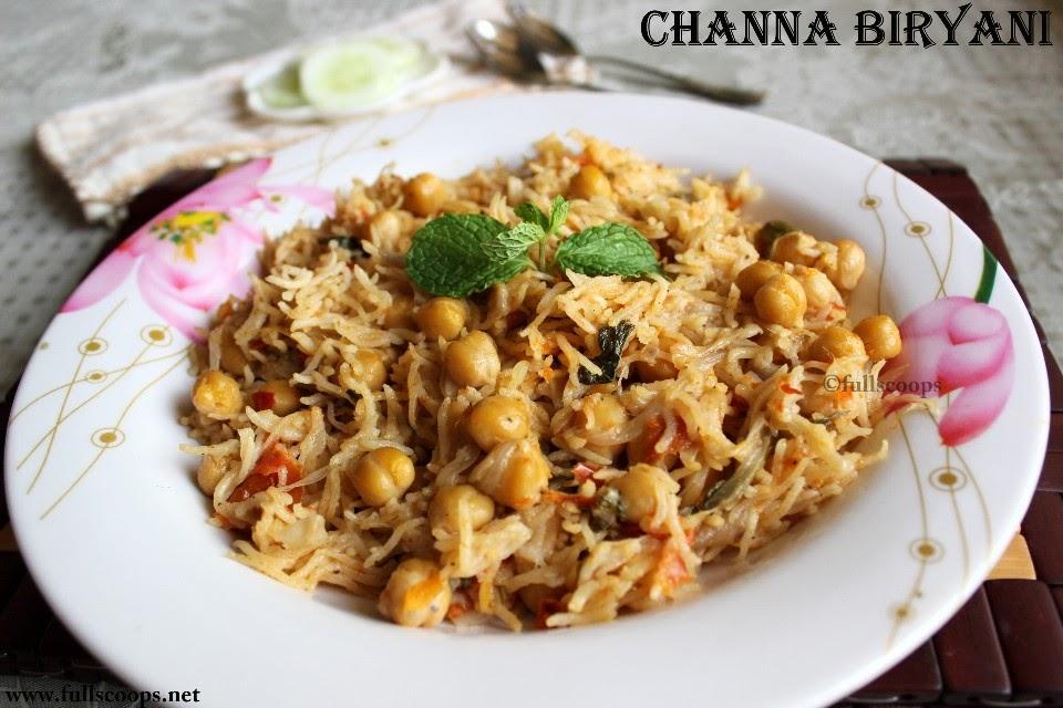 Channa Biryani