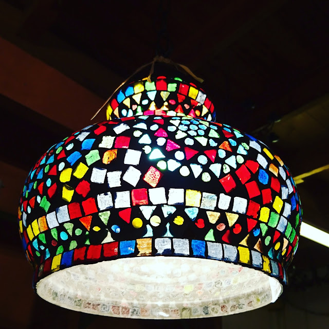 הגלריה המקסיקנית המקום לעיצוב הבית - מנורה מעוצבת