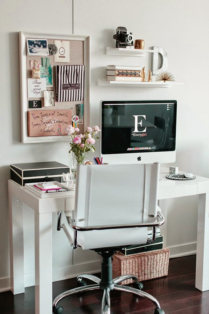 24 Small and Beautiful Home Offices and Work Spaces ...