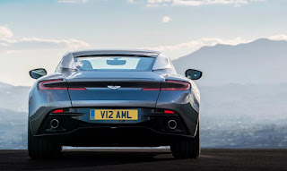 2016 Aston Martin DB11 Rear Angle