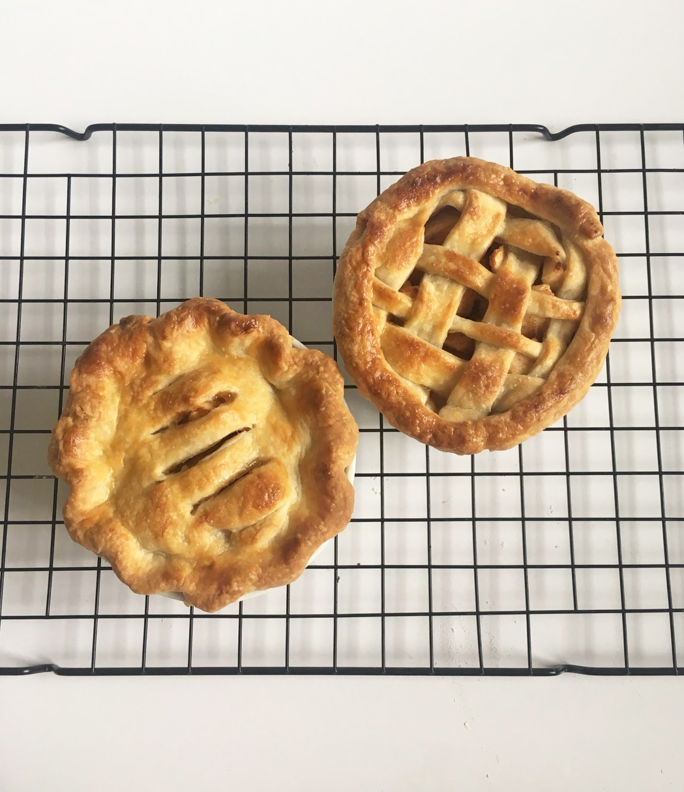 Mini Apple Pies for Two