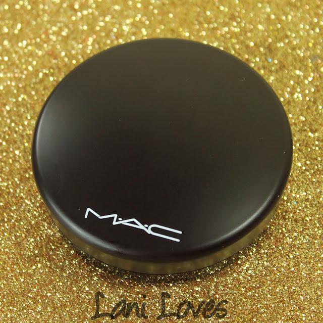 MAC Haute Dogs - Posh Pedigree Mineralize Eyeshadow x 4 Swatches & Review