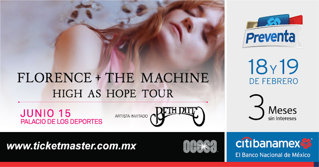 FLORENCE + THE MACHINE EN MÉXICO