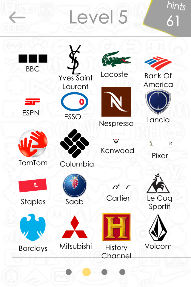 Level 5 Logos Quiz Game Answers For Iphone, Ipad, Ipod ...