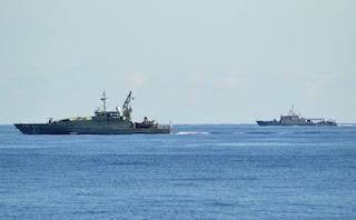 Dua KRI Patroli Bersama Dengan HMAS Pirie di Sekitar Laut Timor