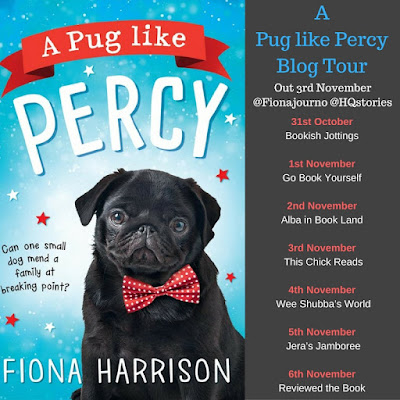 A Pug Like Percy book blog tour