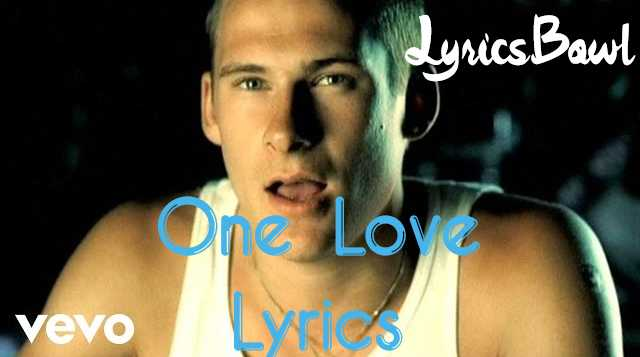One Love Lyrics - Blue | LyricsBowl
