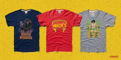 WWE Ultimate Maniacs T-Shirt Collection by Homage