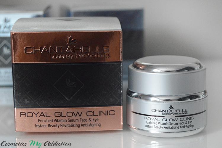 CHANTARELLE | Serum witaminowe dla skóry twarzy i pod oczy