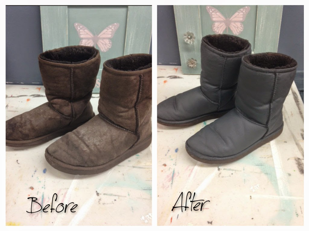 Making Your Uggs Look Brand New With Chalk Paint - How to get paint off shoes