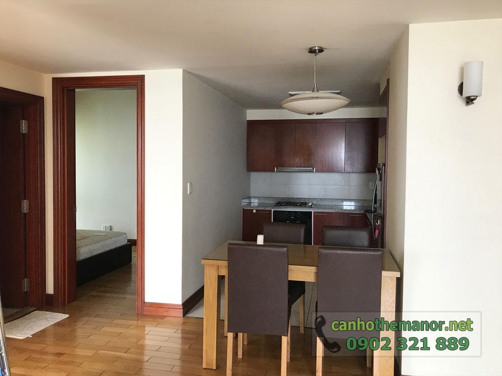 Căn hộ chung cư quận Bình Thạnh - The Manor cho thuê 3 phòng ngủ - hình 3