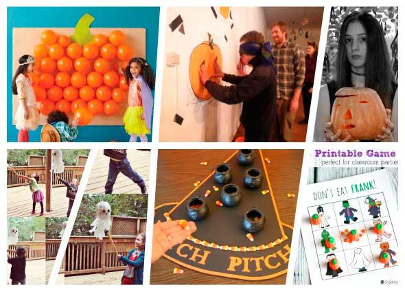 fiesta halloween juegos y actividades infantiles